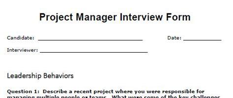 Free templates program manager resume